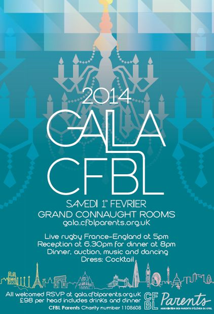 Affiche Gala CFBL 2014