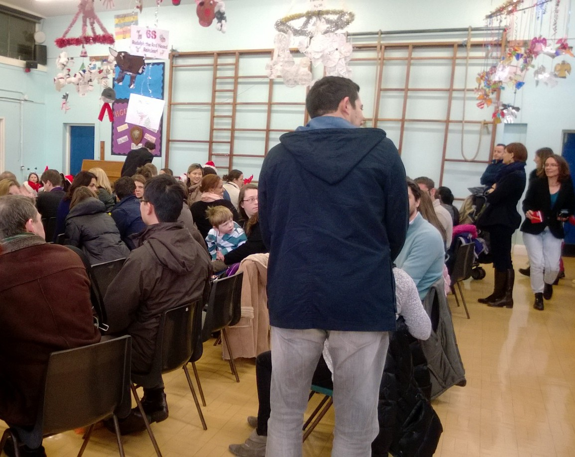 Premier Noël de l'Ecole Tricolore de Bromley pour la plus grande joie des petits et des grands !