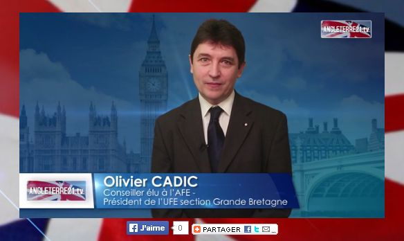 Voeux 2014 Olivier Cadic sur TV Angleterre21