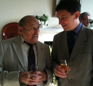 Eddy Hasson et Olivier Cadic