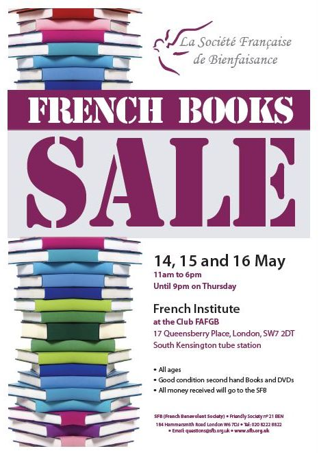 SFB Affiche Books sale 2014