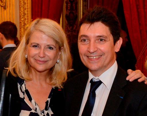 Olivier Cadic et Joëlle Garriaud-Maylam, au Quai d'Orsay, tous deux sénateurs des Français établis hors de France