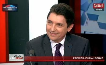 Public Sénat Olivier Cadic 2014-09-29