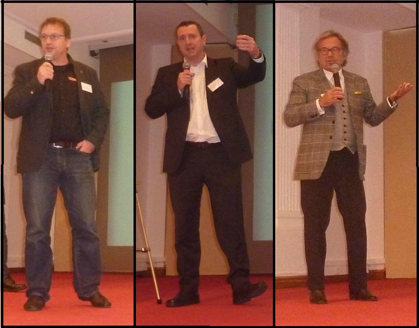 RCD14 -Patrick Fournier, Olivier Tondusson, Jean-Pierre Camard