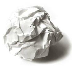 Boule papier