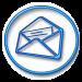 Logo HebdoLettre bleu - Rond75