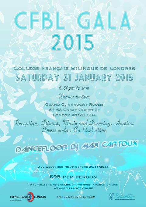 CFBL Soirée de Gala 2015