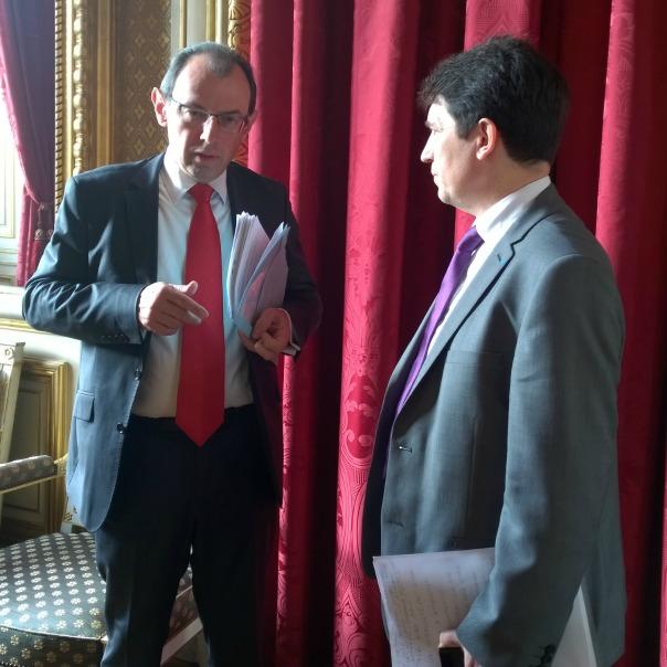 « Nous sommes sur la même longueur d'onde !», m'a dit Christophe Bouchard, directeur des Français à l'étranger et de l'administration consulaire.