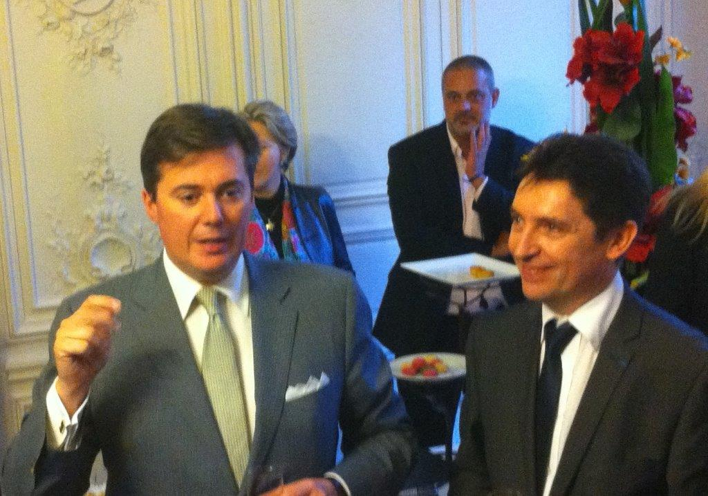 Christophe Frassa et Olivier Cadic
