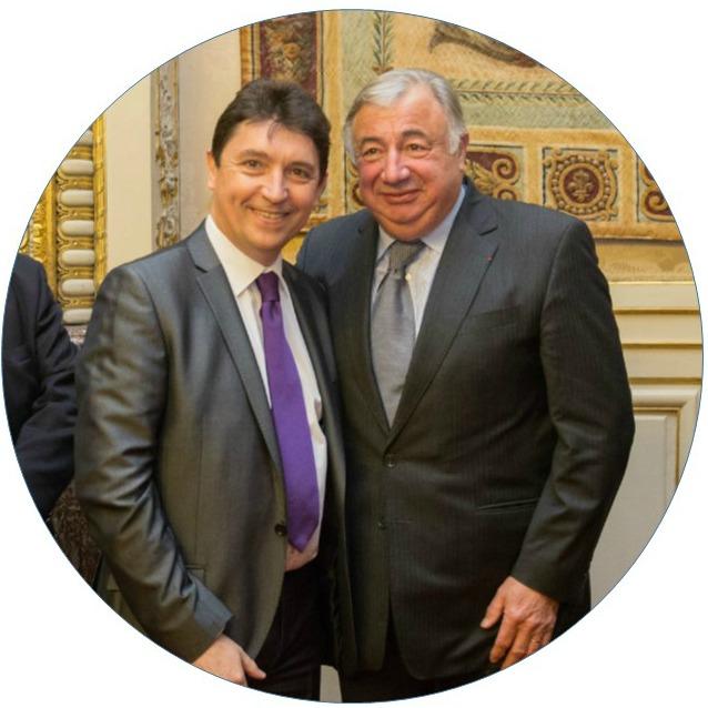 Olivier Cadic Gérard Larcher - 13 01 2014