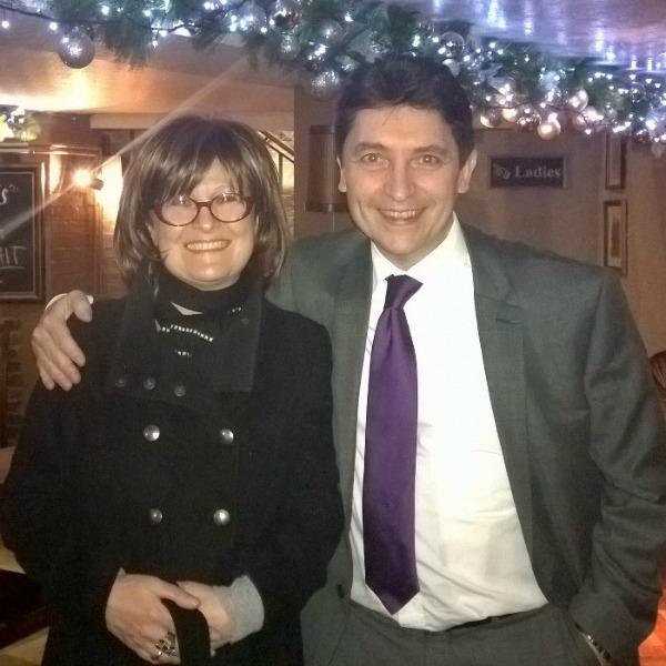 Véronique Cartoux et Olivier Cadic