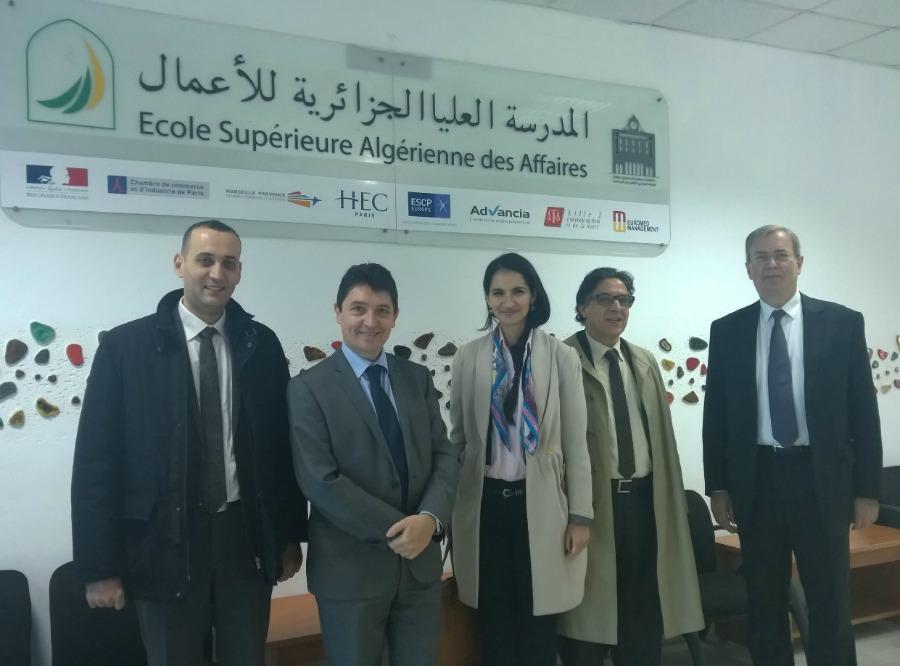 Alg rie alger vers un plan ecole sous l 39 impulsion de for Chambre algerienne de commerce et d industrie