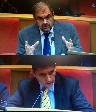 François Chérèque et Olivier Cadic en commission des Affaires sociales - fev 2015
