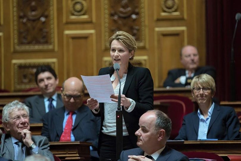 Anne-Catherine Loisier, sénatrice UDI-UC de la Côte-d'Or, juge « dangereuse et injuste » la baisse des dotations aux collectivités voulue par le gouvernement.