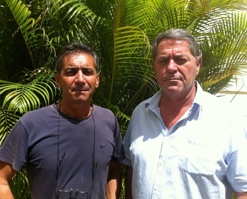 Les deux pilotes du Falcon, Pascal Fauret et Bruno Odos, attendent leur procès depuis deux ans en République dominicaine – 10 mars 2015