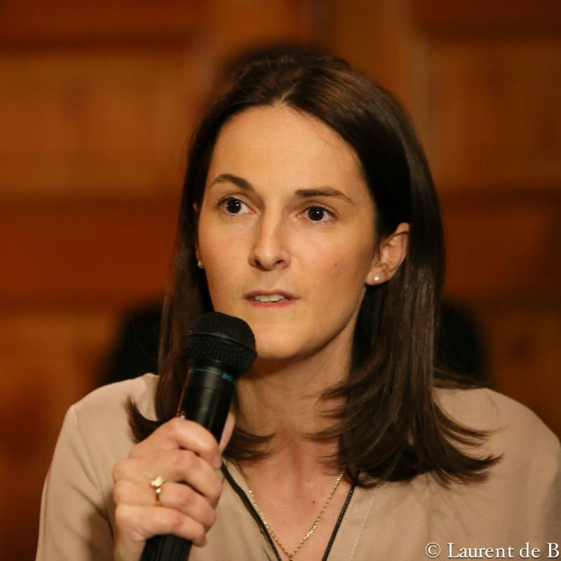 Caroline Laporte, conseillère consulaire Belgique : « L'UDI incarne l'espoir du renouveau et on y ressent cette formidable énergie amenée par une nouvelle génération pleine d'optimisme ».