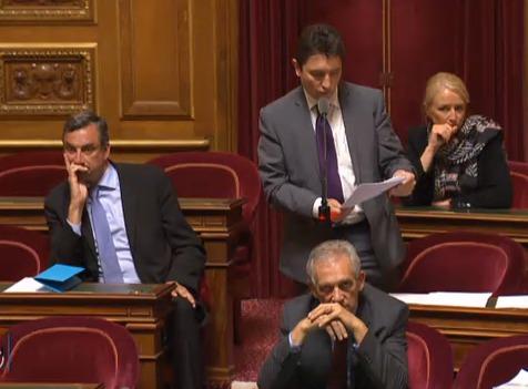 """""""Je regrette l'absence de réflexion collective sur les raisons de l'échec de la mise en œuvre de la loi de 2005"""", Olivier Cadic, 2 juin 2015."""
