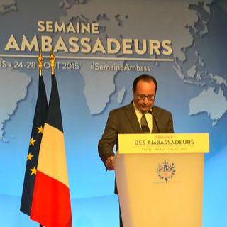 Le chef de l'Etat a ouvert les travaux depuis l'Elysée dans un discours axé sur les questions de sécurité, la crise migratoire et la conférence sur le climat de Paris.