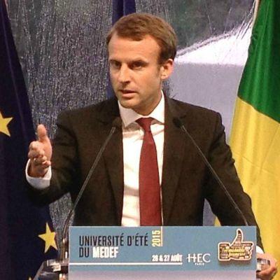 Université d'été du Medef - 27 août 2015 : Sortie remarquée d'Emmanuel Macron… dans les rangs socialistes