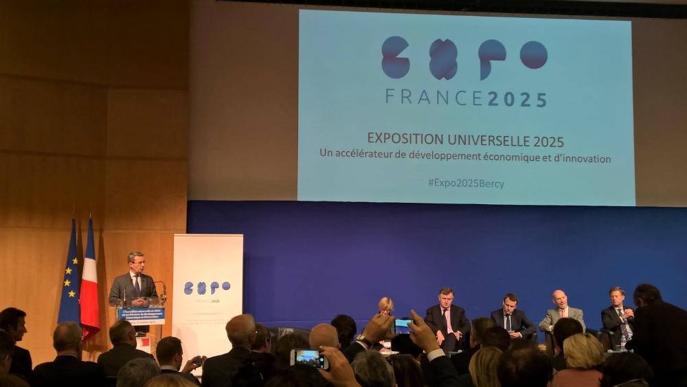 """""""Le grand intérêt, c'est de mettre un pas dans le futur"""" Jean-Christophe Fromentin, président d'ExpoFrance2025 et député-maire UDI de Neuilly-sur-Seine"""