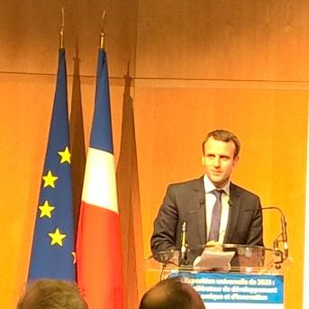 """""""Un projet qui nous ressemble et qui donne un visage à notre envie d'accueillir le monde""""  Emmanuel Macron"""
