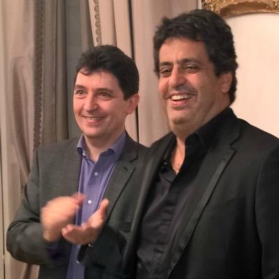 Avec Meyer Habib, député des Français établis hors de France