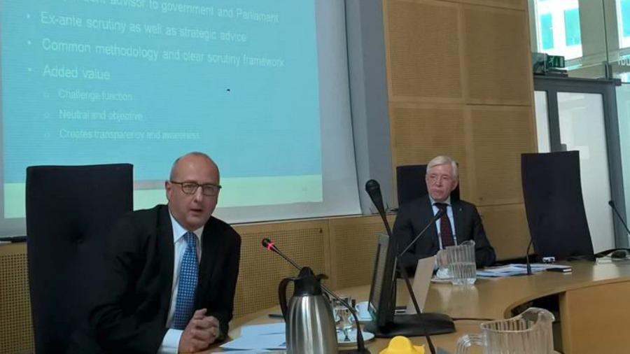 Chez Actal : Rudy Van Zijp, secrétaire et Jan Ten Hoopen, président