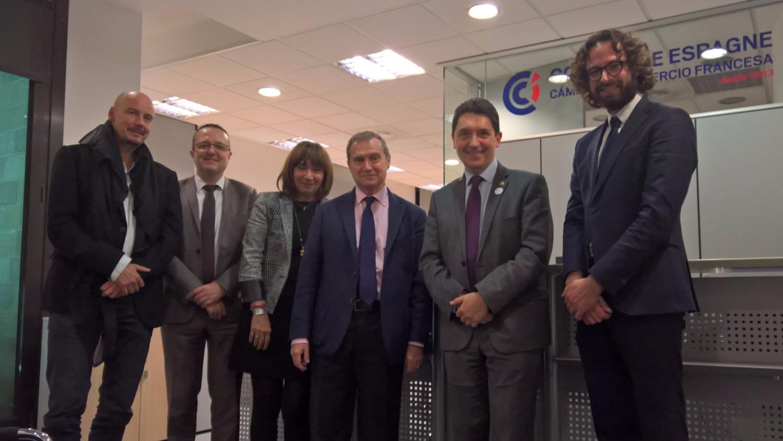 Bourses olivier cadic for Chambre de commerce franco espagnole